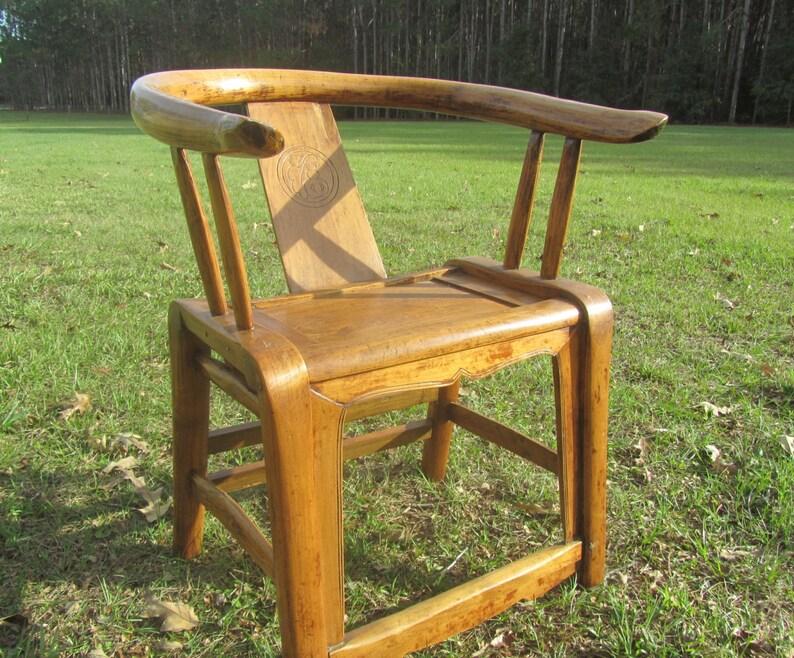 Silla de madera muebles antiguos silla de madera maciza | Etsy