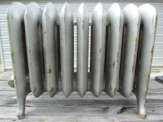 ancien radiateur radiateur vintage radiateur fer de fonte etsy. Black Bedroom Furniture Sets. Home Design Ideas