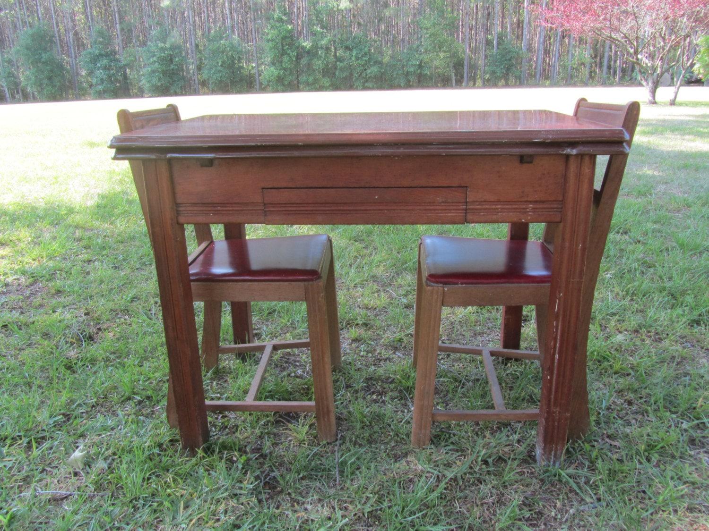 Reserved Vintage Enamel Top Table 1940s Kitchen Etsy