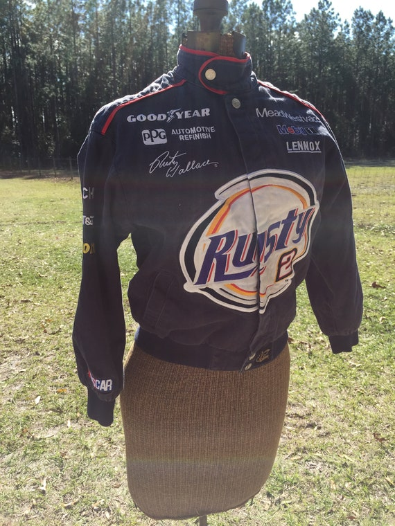 NASCAR, Rusty Wallace, racing jacket,small jacket,