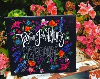 Tay and the JangLahDahs Bloomin' Album | CD with Art and Lyric Booklet