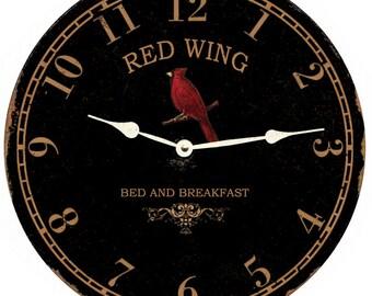 be8ec564 Cardinal wall clock | Etsy