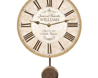 Pendulum clock | Etsy
