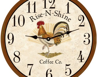 rooster kitchen clock - Kitchen Clock