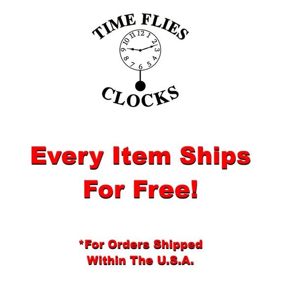 Personalized Bluegill Clock