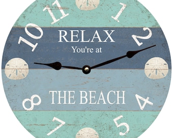 Sand Dollar Clock