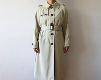 Abbigliamento Cappotto impermeabile Preppy stile militare