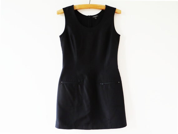 moulante robe poches Etsy robe Noir Mini robe crayon pull Sexy qZq7Ux