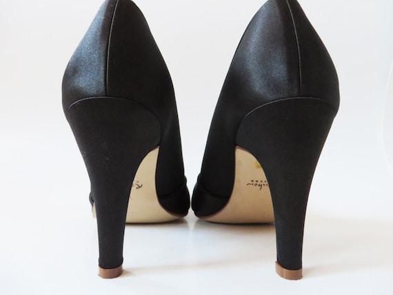 chaussures 8 femme strass talon 5 noir talons haut strass noir 39 classique avec Chaussures noirs Satin UK 6 US pompes des en EUR dames noir qz60H8w