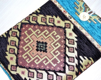 "Kilim iPad Mini Cover, Kindle FIre HD 7"" Case or 8""  Custom Sleeve , ipad mini case, ipad mini sleeve cover, Anatolina kilim"