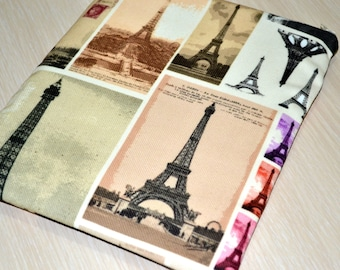 "Eiffel iPad Mini Cover, Nexus 7 Case, Nook, Kobo mini, Kindle, iPad Mini 3 Case, 8"" custom tablet case,Nexus 7 case- Kilim"