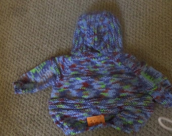 knitted baby sweaters