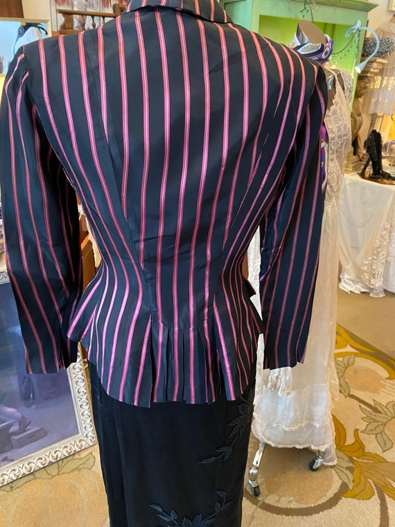 Lovely Early  40's Ceil Chapman  blouse, blazer - image 2