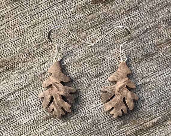 Oak Leaf earrings