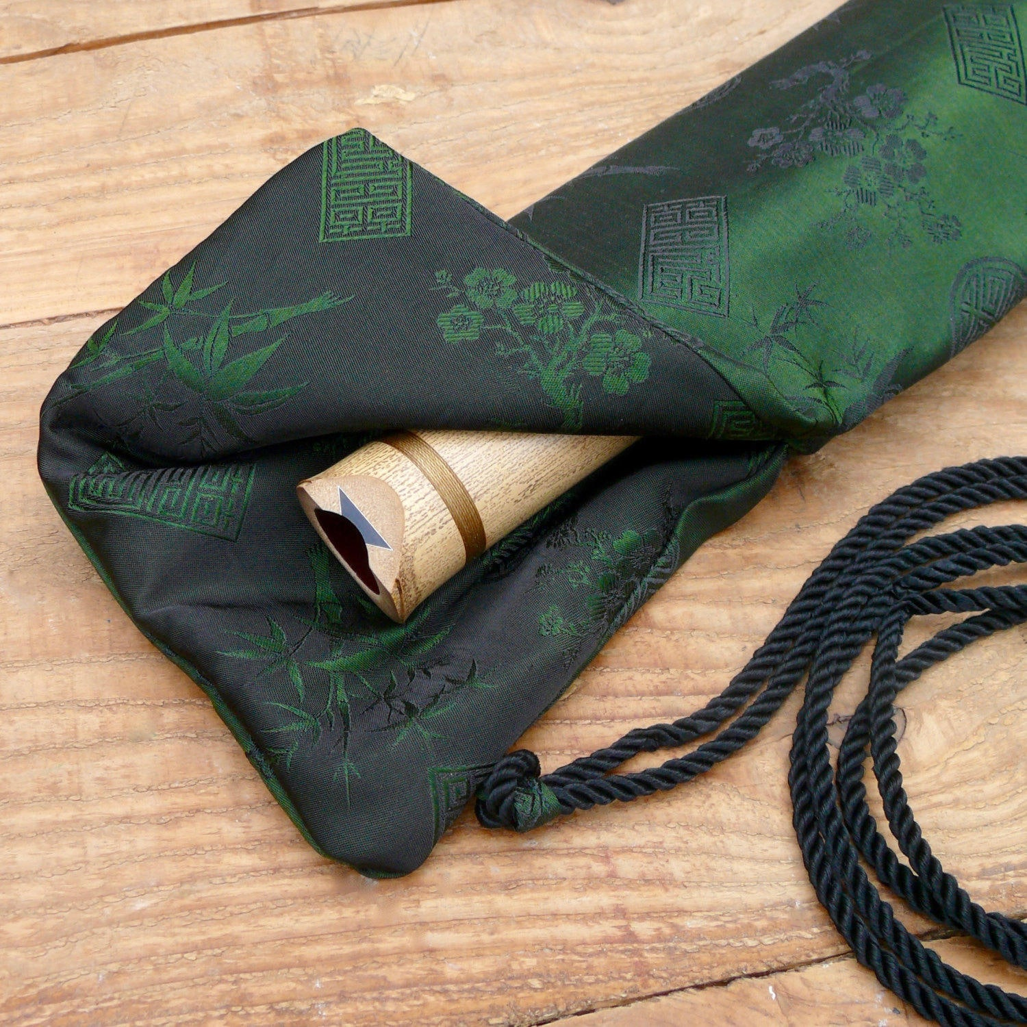 Silk Flute Bag-Padded & lined with a Vapor Barrier