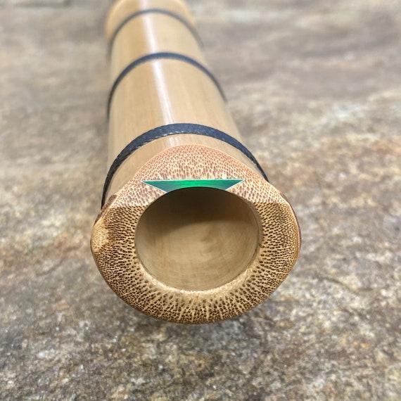 2.1 'B' Shakuhachi Flute ~ Meditation model, Bindings