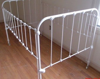Iron Baby Crib from the 20's
