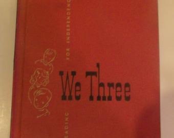 We Three Vintage Reader Book 1952