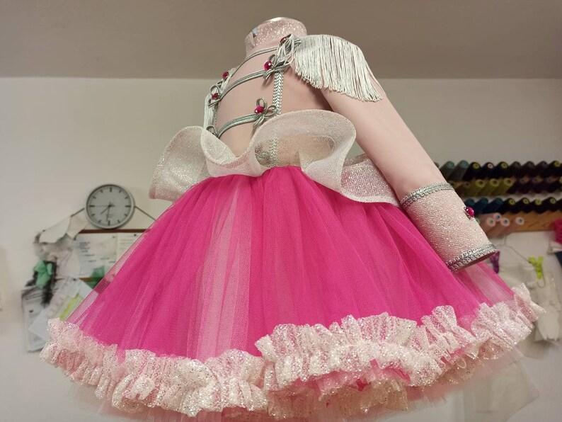 Girl Nutcracker Costume,Girl Birthday Dress,Barbie Nutcracker Dress