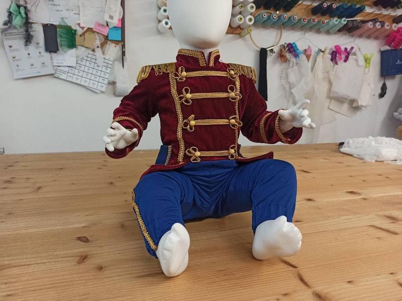Boy nutcracker costume,boy circus outfit