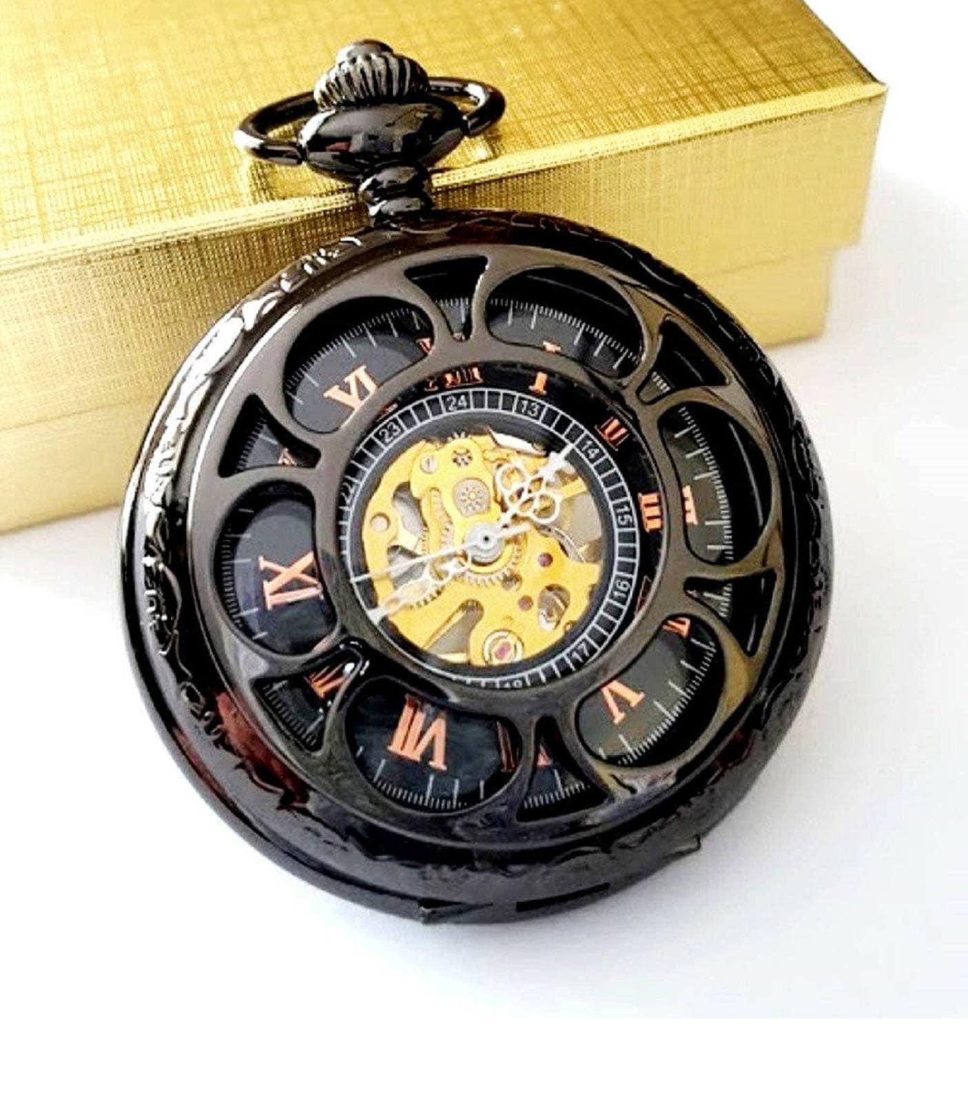Wedding Gift Watches: Pocket Watch Groomsmen Gift Wedding Pocketwatch