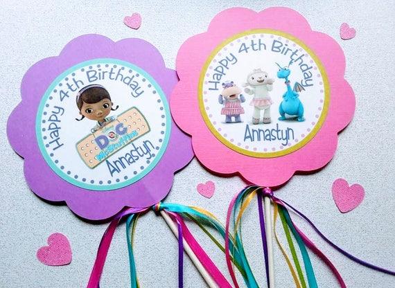 Doc Mcstuffins Table Tent Cards Doc Mcstuffins Food Labels Doc Mcstuffins Table Decorations Doc Mcstuffins Birthday Doc Party
