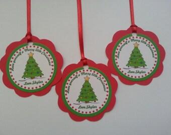 Christmas,Holiday  Favor Tags
