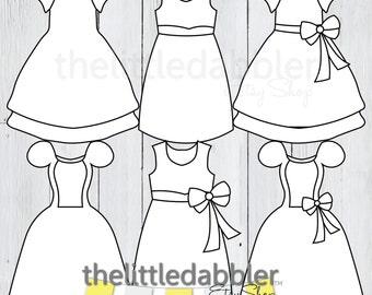 Baby Onesie And Dress Templates Baby Shower Romper Baby Etsy
