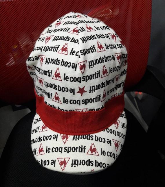 Le Coq Sportif Cap Hat Full Print Sportif Free Size Cotton Hat  a623dc2f29e8