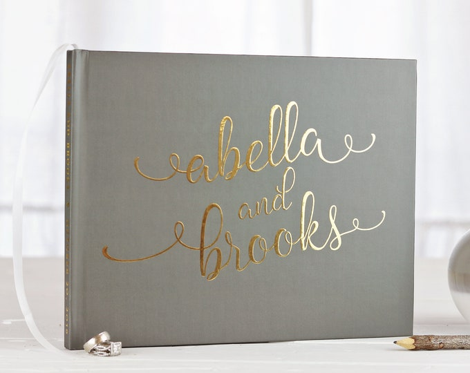 Real Foil Guestbooks