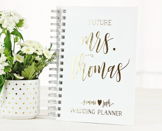 Future Mrs Wedding Planner Personalized Wedding Planner Custom
