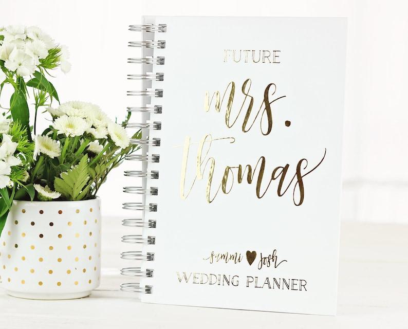 Future Mrs. Wedding Planner Personalized Wedding Planner image 0