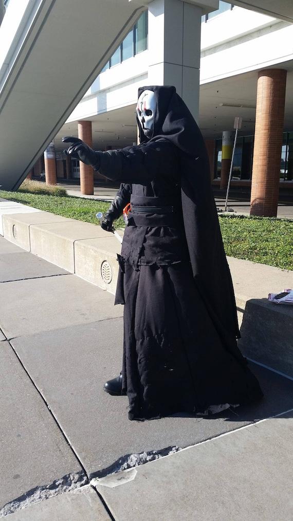 Star Wars Darth Nihilus Cosplay Costume Adult Halloween Movie Costume