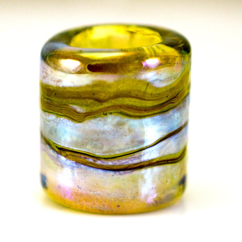 Highland Meadow Handmade Glass Lampwork Bead