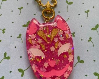 Sakura Konpeito Sparkle Resin Crystals Hair Clip Set