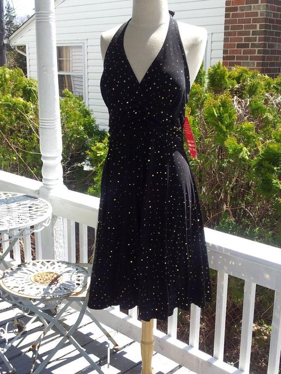 Summer Evening halter top dress