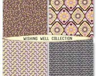 Free Spirit Jenean Morrison  Wishing Well Collection Cotton Fabric Geometrics and Florals