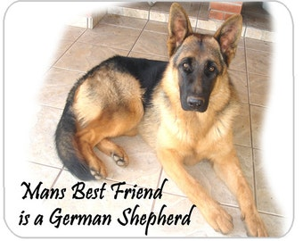 German Shepherd Mat Etsy