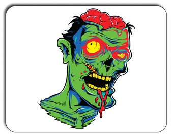 Zombie Horror Mouse Mat, Mouse Pad