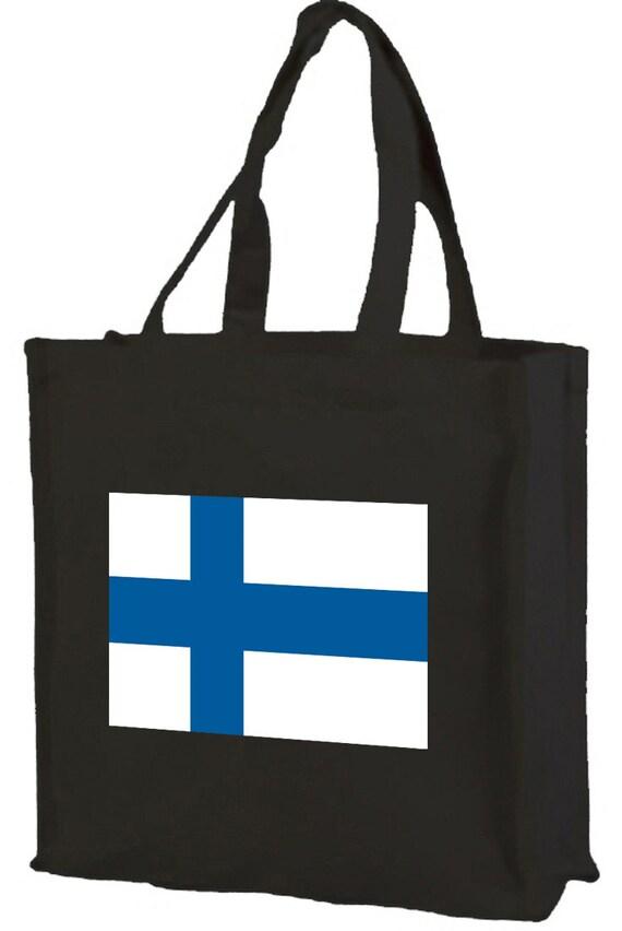 Finition drapeau sac Shopping en coton avec soufflet et manches longues, 3 coloris en option