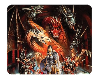 Dragon Wars Fantasy   -  Mouse Mat Mouse Pad