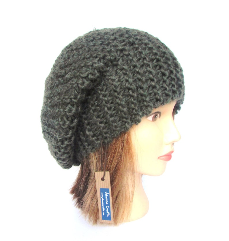 2c7fcc5aa2527 Made in Ireland beret style slouch hat army green slouchy
