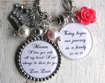 Stepdaughter Gift from Bride Stepdaughter Wedding gift Step daughter gift Step daughter Necklace Stepdaughter gift from Groom on Wedding Day