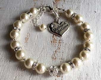 Wedding gifts for Mother in law gift for Mother of the groom gift from bride, Mother of the groom gift from son Mother of the groom bracelet