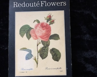 Redoute Flowers A Book Of Postcards