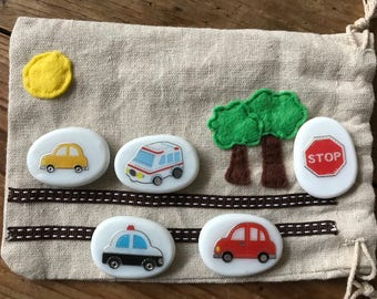 Cars and vehicles travel game