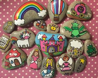 Fairytale story stones