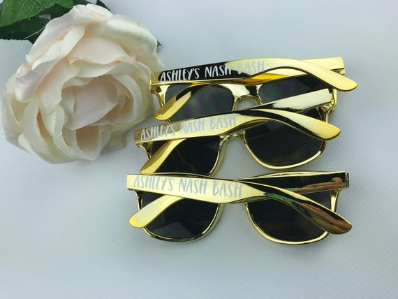 4461a049de3 Nashville Favors Custom Sunglasses Personalized Sunglasses