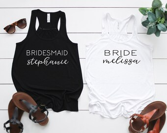 Bachelorette Party Shirt - Bridesmaid Getting Ready Shirt- Bridesmaid Tshirt - Bridal Party Gift - Bridesmaid Proposal - Personalized Gift