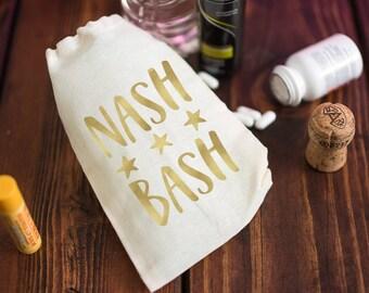 Nash Bash - Hang Over Kit Bag - Bachelorette Hangover Bag - Nash Bash Kit - Bridesmaid Gift - Bachelorette Favor Bag - Gift for Bridesmaid